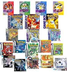 Juegos de Pokémon